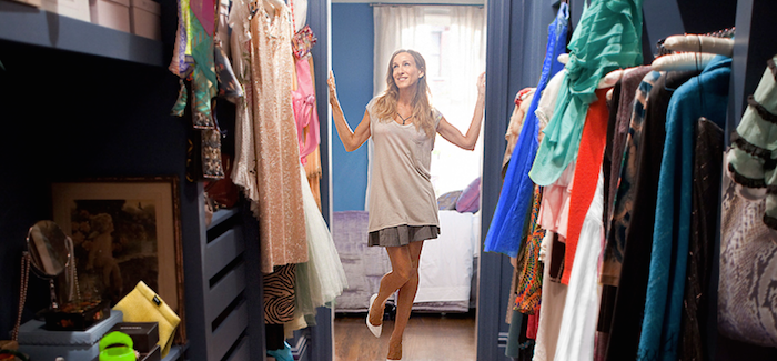 carrie-bradshaw-spring-cleaning